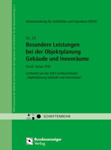 Heft 34 AHO-Schriftenreihe - Cover