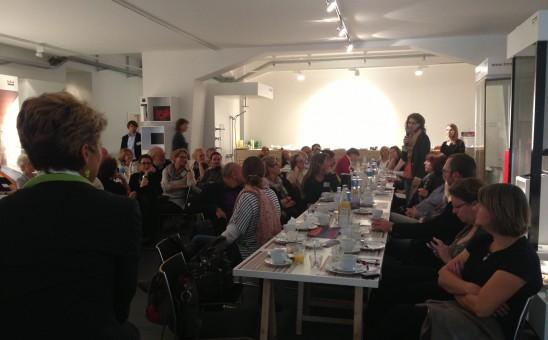 BDIA Planerfrühstück im AIT Architektursalon Hamburg ; Foto: Cathrin Urbanek, BDIA