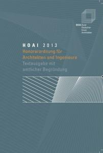 BDIA Sonderdruck zur HOAI 2013