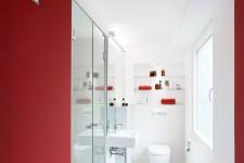 Raumkleid Interior Design, Köln, Duschbad, Neustrukturierung eines Kellergeschosses, Köln; Foto: KERN Fotografie, Köln