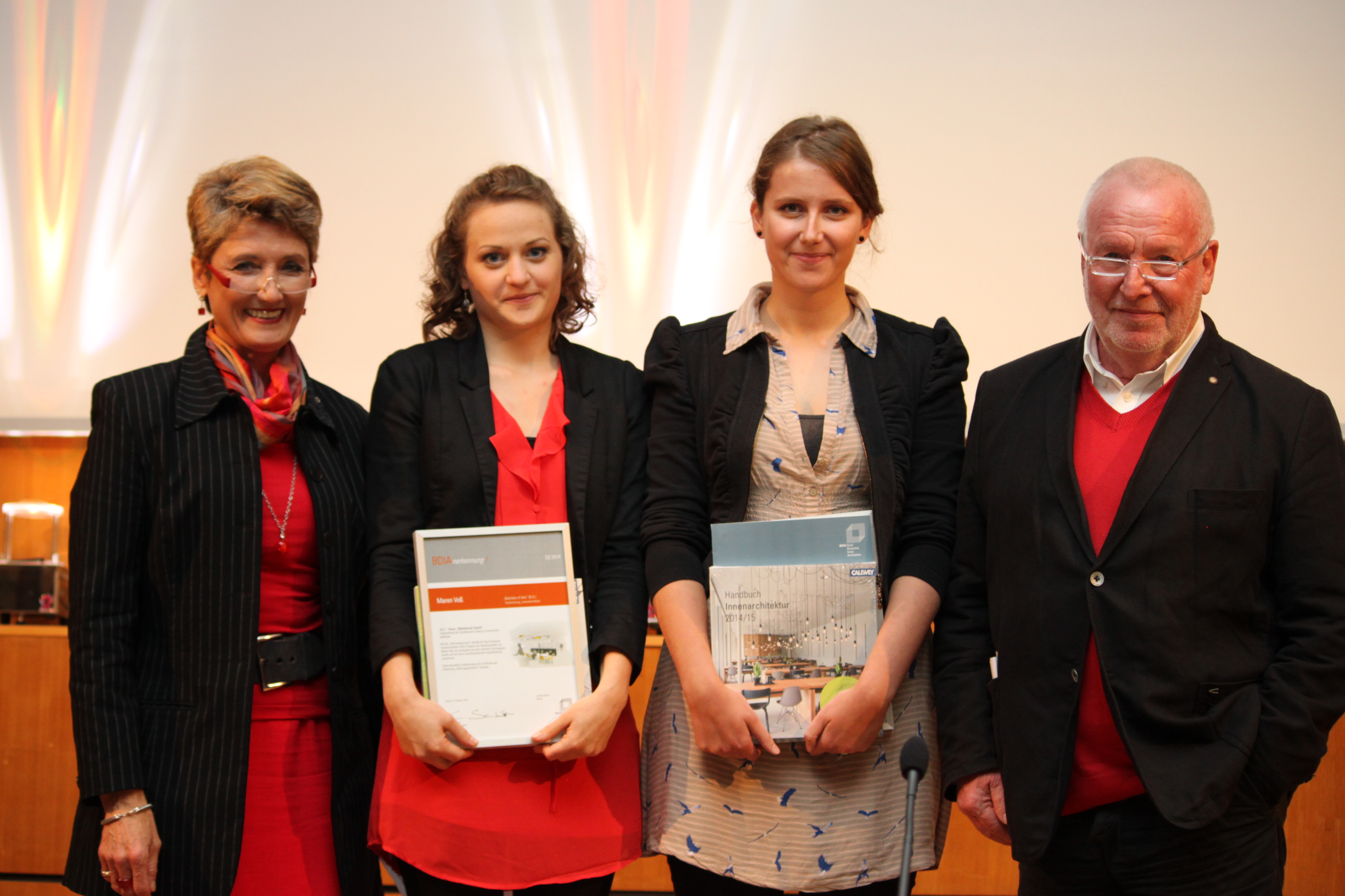 Mitgliederversammlung in coburg bdiausgezeichnet bdia for Studiengang innenarchitektur