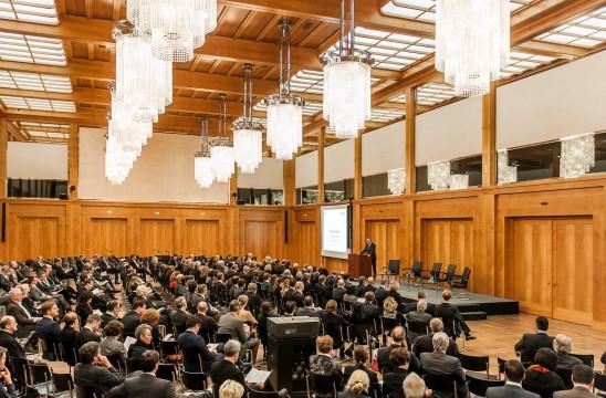 Begrüßung durch Staatsekretär Stephan Steinlein, Auswärtiges Amt. Foto: Till Budde