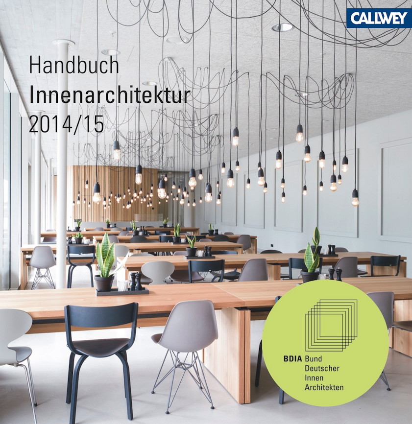 Bdia handbuchausstellung best of 2014 15 in die for Innenarchitektur verband