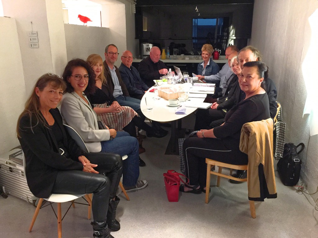 Vorstandssitzung Des Lv Bayern Mit Beirat Im Showroom Von