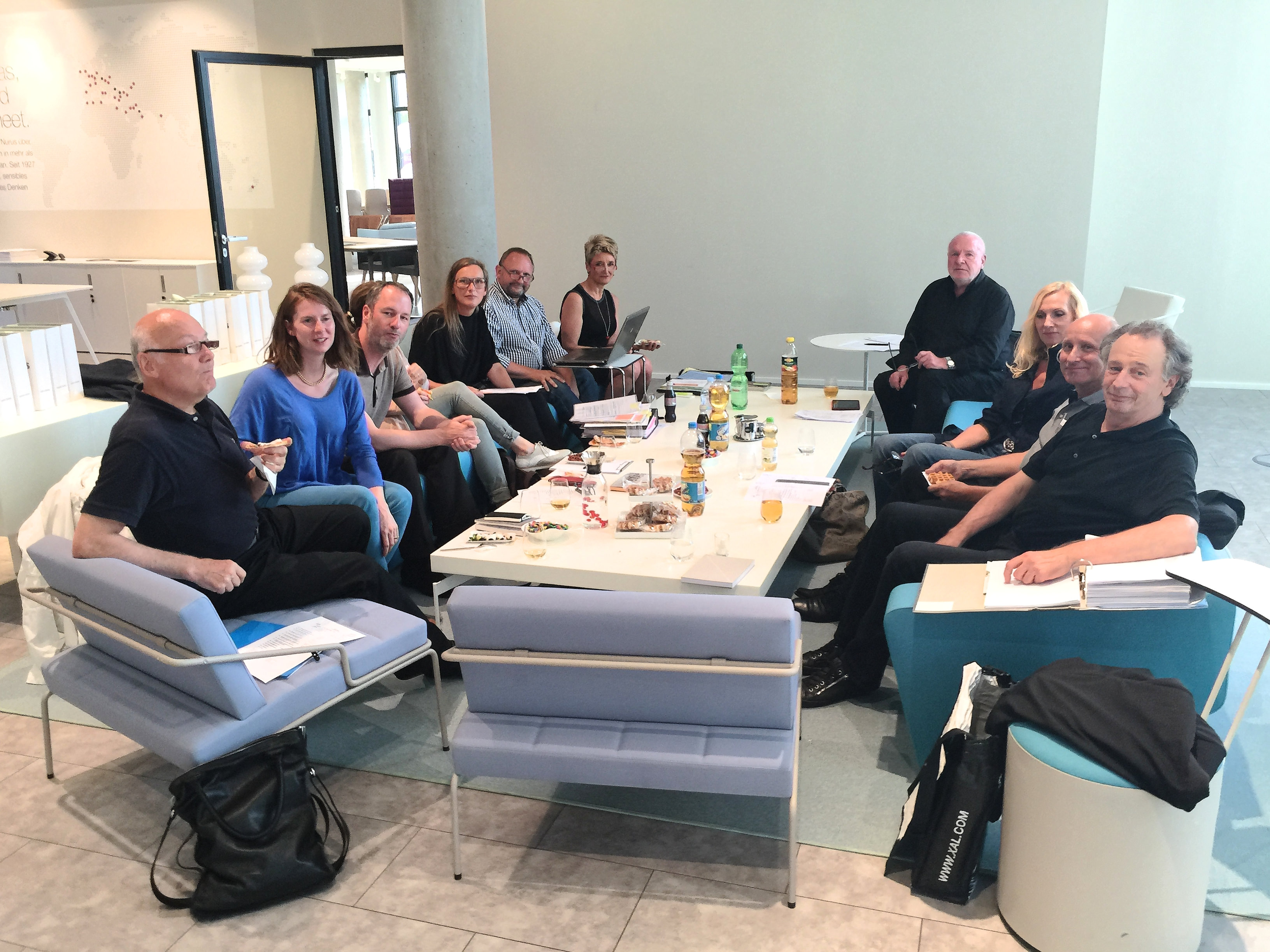 Vorstandssitzung Des Lv Bayern Mit Beirat Im Showroom Des
