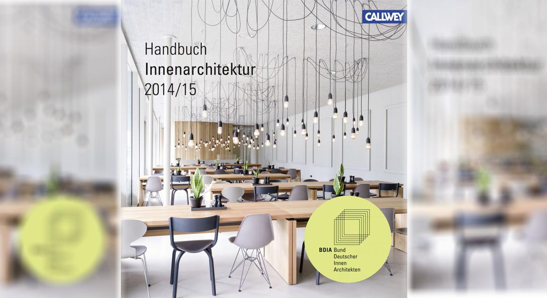 Projekteinreichung zum neuen bdia handbuch for Innenarchitektur verband