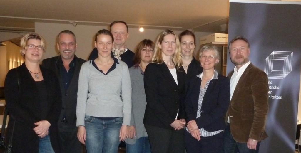 Teilnehmer der Mitgliederversammlung im AIT Salon am 24.11.2015/Foto: Sachsse