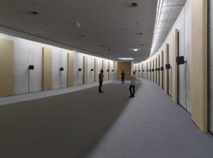 KIT – Spannender Restraum zwischen Tunnelwänden für eine Soundinstallation. Foto: Ivo Faber
