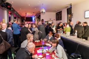 Welcome Abend im Cafe KIT - Kunst im Tunnel. Foto: Oliver Edelbruch