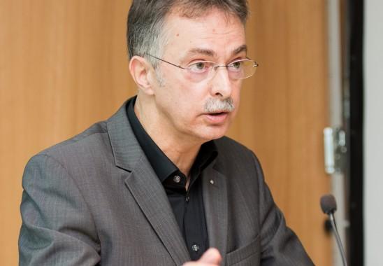Ernst Uhing, Präsident der Architektenkammer NRW. Foto: Oliver Edelbruch