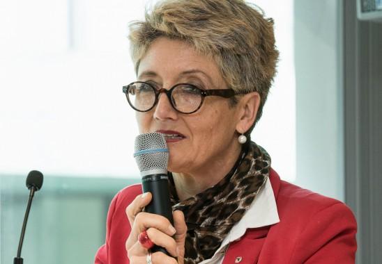 Claudia Schütz wurde bereits am Vortag vom Bundesrat als Vizepräsidentin einstimmig gewählt. Foto: Oliver Edelbruch