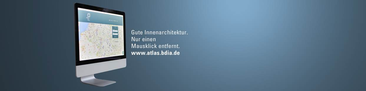 Bdia atlas bdia bund deutscher innenarchitekten for Innenarchitektur studiengang