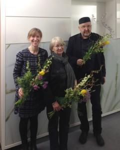 Wurden geehrt für 25 Jahre Mitgliedschaft: Simone Krieg, Uta Staake-Ansorg, Uwe Völcker.
