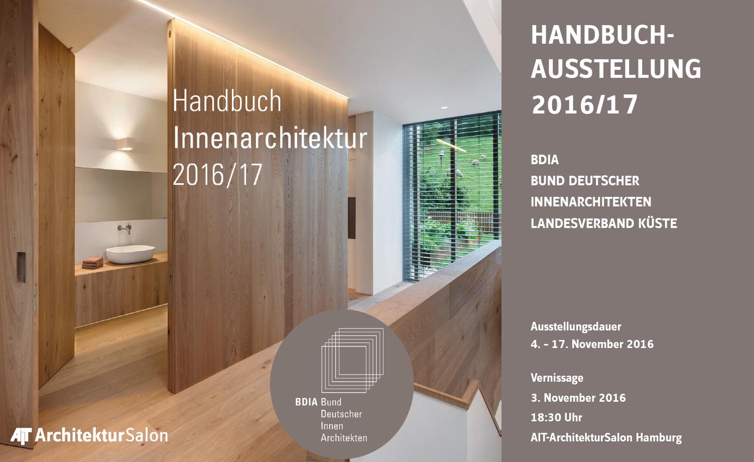 BDIA Handbuchausstellung und Vorträge vom 21. bis 21. November im ...