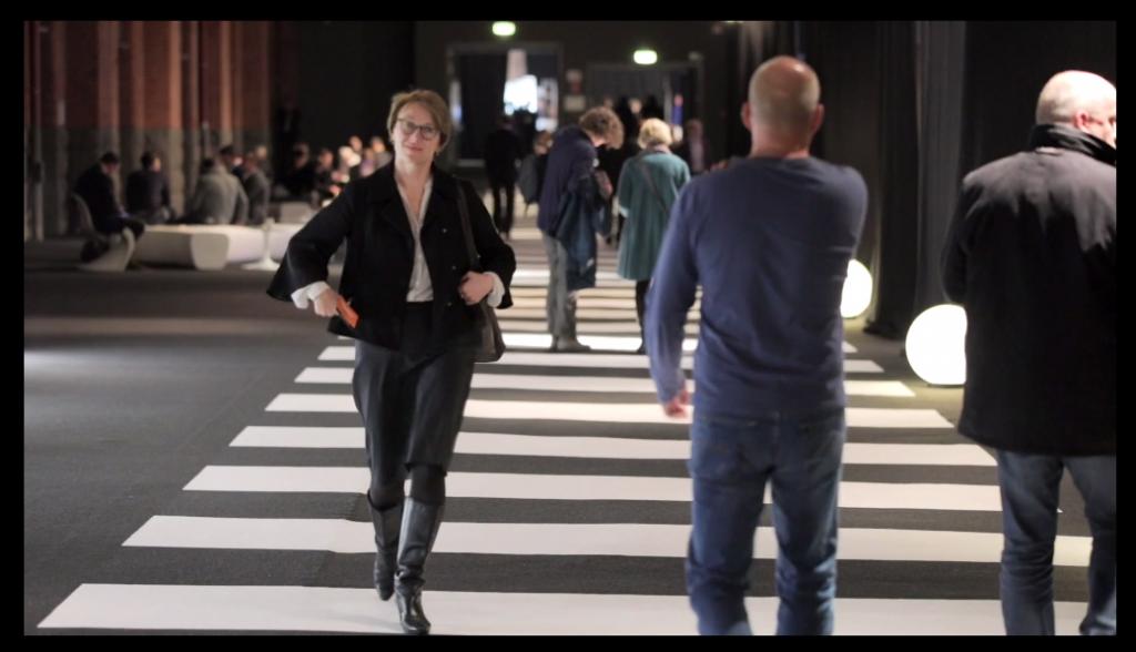 BDIA Innenarchitektin Britta Weißer auf der A@W Station Berlin 2016