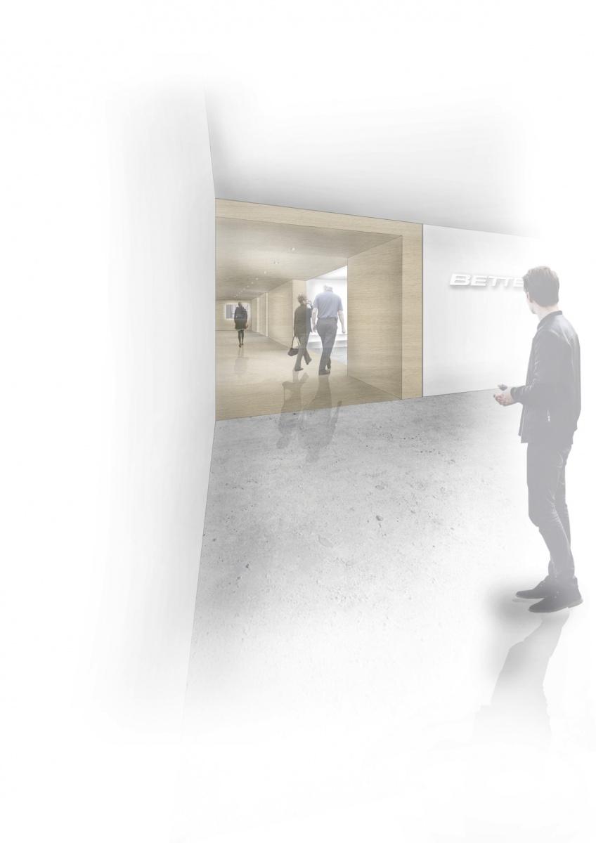 Bdia ausgezeichnet master f r melissa lesch showroom for Masterarbeit innenarchitektur