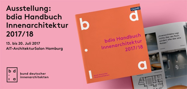 bdia handbuchausstellung 2017: vorträge im ait salon hamburg, Innenarchitektur ideen
