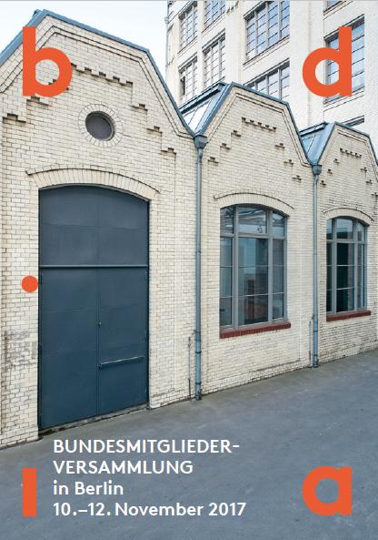 Titel BMV Flyer - bund deutscher innenarchitekten bdia