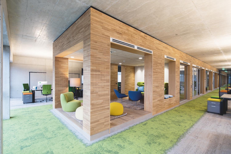 beispiele innenarchitektur bund deutscher. Black Bedroom Furniture Sets. Home Design Ideas