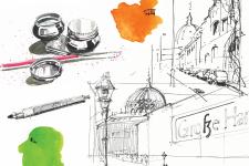 "bdia Workshop - ""Summer Sketching"" am 12. Juli 2020 in Coburg"